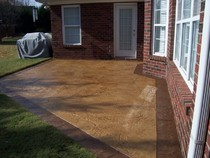 concrete patio overlay