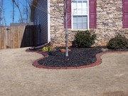 decorative concrete edge